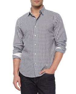 Rag & Bone - Gingham Check Woven Shirt