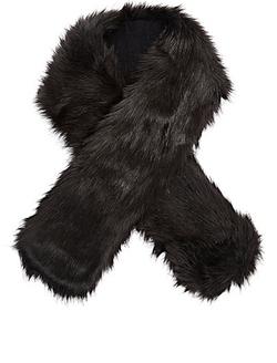 Buji Baja - Faux-Fur Collar Scarf