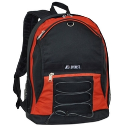 Everest - Luggage Two Tone Backpack With Mesh Pockets