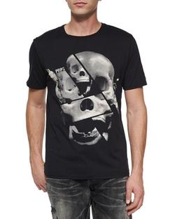 PRPS - Skull-Print Graphic Tee