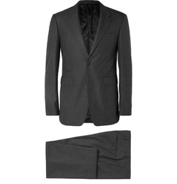 Burberry London - Grey Slim-Fit Wool Suit