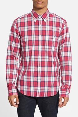 Gant Rugger  - Vacay Trim Fit Madras Plaid Woven Shirt