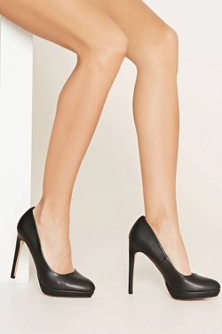 Forever 21 - Classic Faux Leather Pumps
