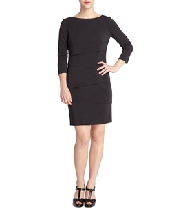 Tahari Arthur S. Levine - Nelson Paneled Shift Dress