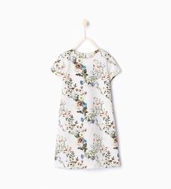 Zara - Floral Print Dress