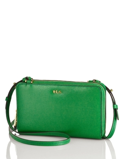 Lauren Ralph Lauren - Leather Tate Tech Crossbody Bag