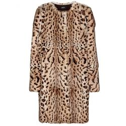 A.P.C. - Leopard-Print Rabbit Fur Coat