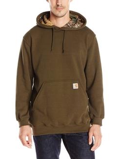 Carhartt - Camo Hood Lined Sweatshirt