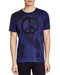 John Varvatos Star Usa - Peace Sign Tee