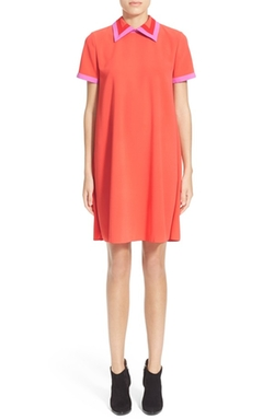 Roksanda  - Radner Short Sleeve Shift Dress