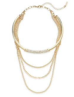 Saks Fifth Avenue  - Multi-Strand Chain Choker Necklace