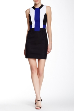 French Connection  - Edtya Colorblock Dress