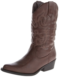 Madden Girl - Sanguine Wide Calf Western Boots