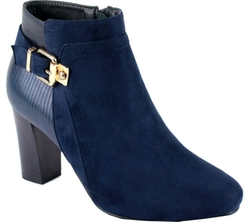 Raneeze - Stacked Heel Ankle Boot