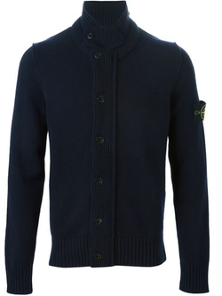 Stone Island - Buttoned Knit Cardigan Sweater