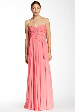 Jill Stuart  - Draped Chiffon Gown