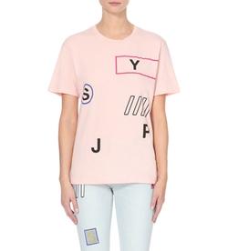 Steve J & Yoni P  - Logo Print Cotton Jersey T-Shirt
