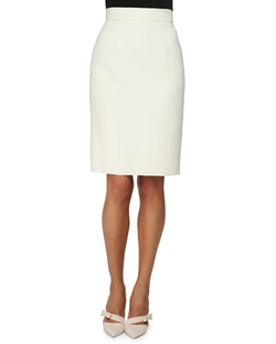 Oscar de la Renta   - Double-Faced Pencil Skirt