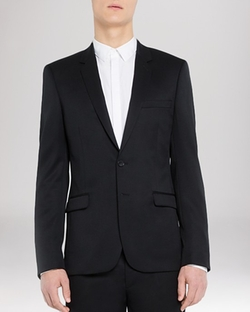 Sandro  - Slim Fit Notch Suiting Jacket