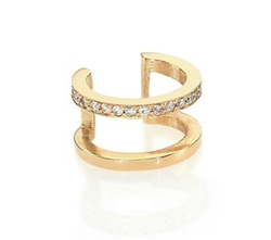 Zoe Chicco - Pavé Diamond Single Ear Cuff