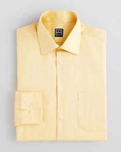 Ike Behar  - Tonal Herringbone Dress Shirt