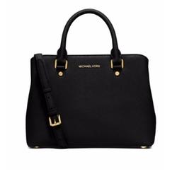 Michael Michael Kors - Savannah Medium Saffiano Leather Satchel Bag