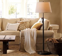 Pottery Barn - Sutter Adjustable Lever Floor Lamp Base