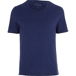 River Island - Low Scoop Neck T-Shirt
