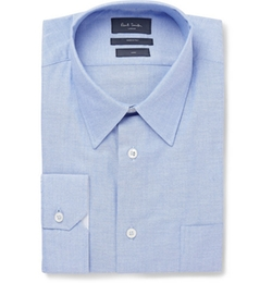 Paul Smith London   - Blue Cotton Shirt