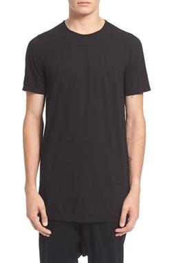 Rick Owens Drkshdw - Seamed T-Shirt