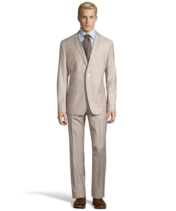 Versace - Pindot Two-Piece Wool Suit