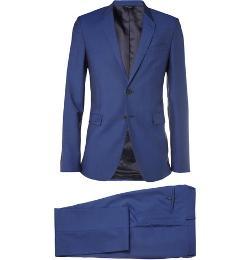Paul Smith London   - Kensington Slim-fit Wool And Mohair-blend Suit