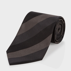 Paul Smith - Diagonal-Stripe Classic Silk Tie