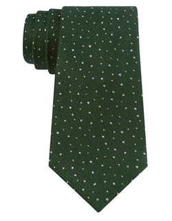 Tallia Orange  - Silk Abstract Dot Print Tie