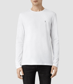AllSaints - Brace Long Sleeved Tonic Crew Shirt