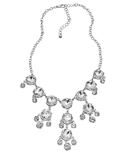 Blu Bijoux - Sparkle Bib Necklace
