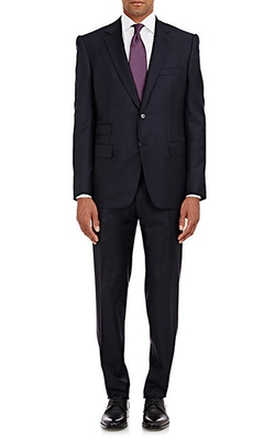 Cifonelli - Twill Marbeuf Two-Button Suit