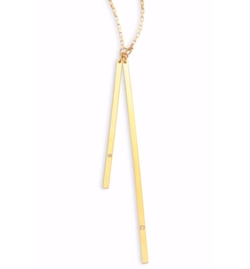 Jennifer Zeuner Jewelry  - Peyton Diamond Lariat Necklace