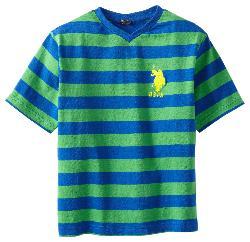 U.S. Polo Assn. - Boys Striped T-Shirt