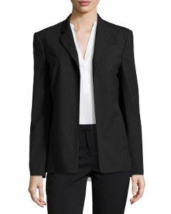 Halston Heritage  - Slim Open-Front Jacket