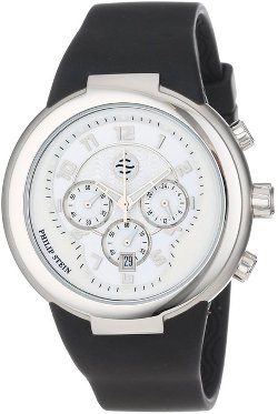 Philip Stein - Chronograph Rubber Strap Watch