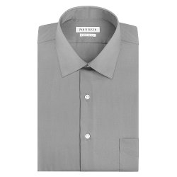 Van Heusen  - Classic-Fit Solid Easy-Care Spread-Collar Dress Shirt