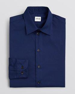 Armani Collezioni - Solid Dress Shirt