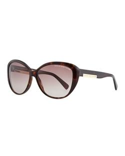 Marc By Marc Jacobs  - Luna Logo Plaque Sunglasses
