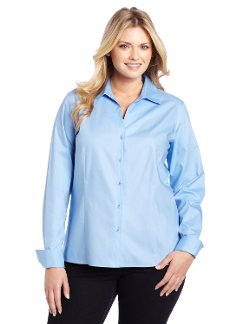 Jones New York - Long Sleeve No-Iron Easy Care Blouse
