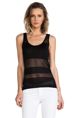 Robert Rodriguez - Burnout Block Knit Tank