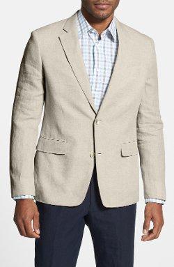 Nordstrom  - Classic Fit Linen Blazer