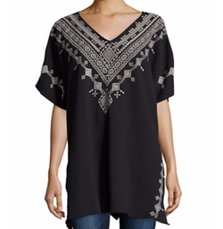 JWLA for Johnny Was - Shobah Long French Terry Poncho Top