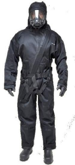 Radiation Shield Technologies - Demron Full Bodysuit Chemical Protective Clothing