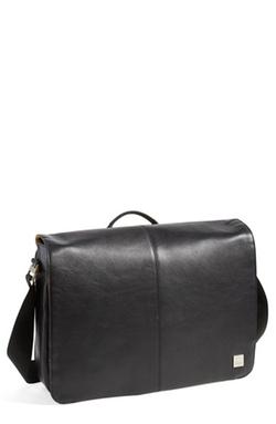 Knomo London - Leather Messenger Bag